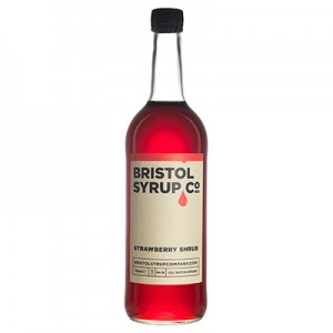 BRISTOL SYRUP CO STRAWBERRY SHRUB 75CL