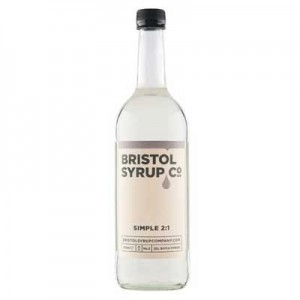 BRISTOL SYRUP CO 2:1 75cl