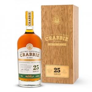 CRABBIE  WHISKY 25YO 70CL