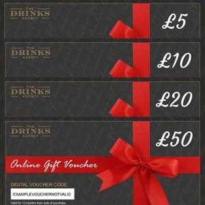 DRINKS AGENCY GIFT VOUCHERS FROM £5 TO £50