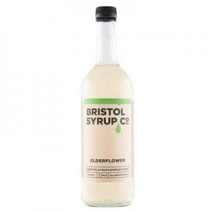 BRISTOL SYRUP CO ELDERFLOWER 75cl