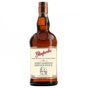 GLENFARCLAS 15YO JOHN GORDONS PRIVATE STOCK 70CL
