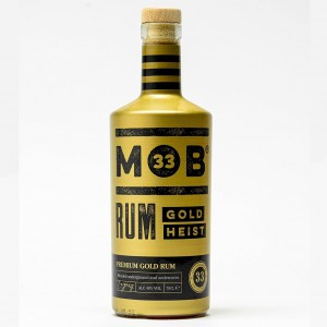 MOB 33 GOLD HEIST GOLD RUM 70CL