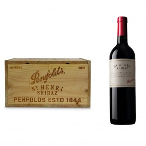 PENFOLDS ST HENRI SHIRAZ 2013 CASE OF 6 BOTTLES