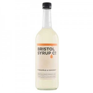 BRISTOL SYRUP CO PINEAPPLE & COCONUT 75cl