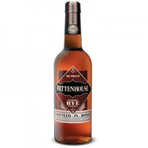 RITTENHOUSE STRAIGHT RYE WHISKY 70cl