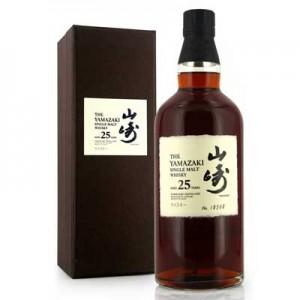 SUNTORY YAMAZAKI 25YO WHISKY 70CL