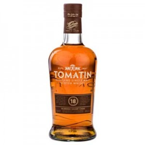 TOMATIN 18 YEARS OLD OLOROSO SHERRY CASK 70cl