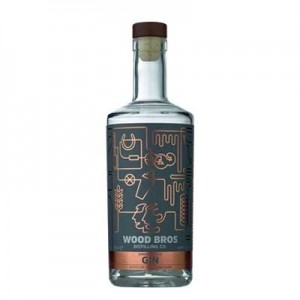 WOOD BROTHERS SINGLE ESTATE GIN 70CL