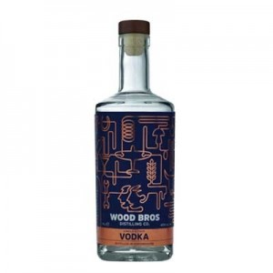 WOOD BROTHERS SINGLE ESTATE VODKA 70CL