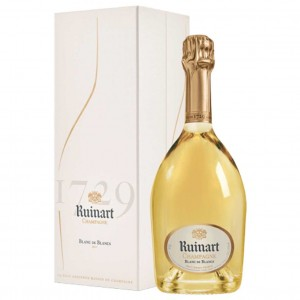RUINART BLANC DE BLANCS CHAMPAGNE (IN GIFT BOX) NV 75cl
