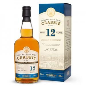 CRABBIE  WHISKY 12YO 70CL