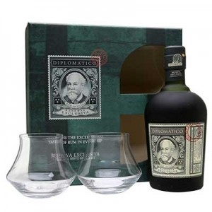 DIPLOMATICO EXCLUSIVA RUM GIFT SET 70CL