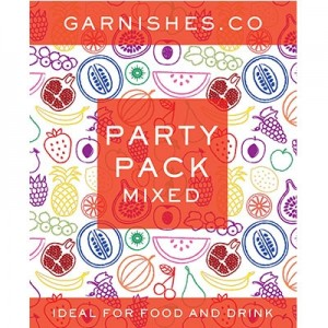 GARNISHES CO PARTY PACK 25G