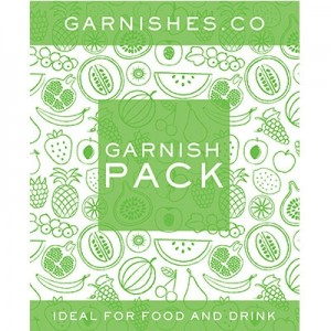 GARNISHES CO PEAR 25G