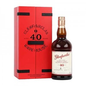 GLENFARCLAS 40 YEAR OLD 43% ABV 70CL.      .     .BACK SOON