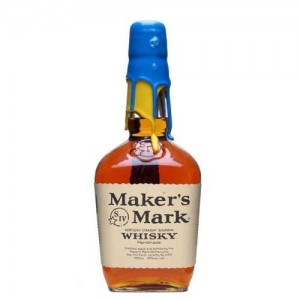 MAKERS MARK WHISKY BLUE & YELLOW 2008 70CL