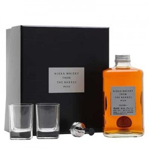 NIKKA FROM THE BARREL GIFT SET 50CL